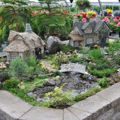 Miniature gardens 48413764731522979 - The Fairyhood Source by mskolberg Large Fairy Garden, Fairy Garden Plants, Fairy Garden Supplies, Fairy Garden Houses, Gnome Garden, Succulents Garden, Succulent Planters, Hanging Planters, Garden Planters