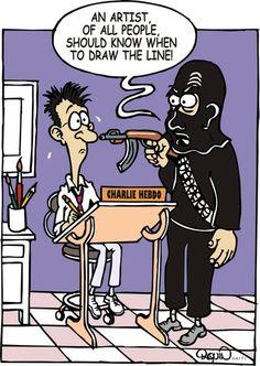 Not a Good Time To Be a Cartoonist - Raphaël Paquin - Haiti - §