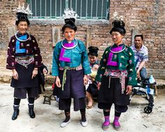 All sizes | Ladies of Gaoyao village - Bazhai Miao | Flickr - Photo Sharing!