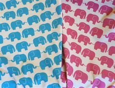 Elephants on a natural linen background. Japanese Fabric, Natural Linen, Art Studios, Textile Art, Elephants, Fabrics, Things To Come, Colours, Tejidos