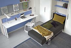 14 fantastiche immagini su scrivania a scomparsa bed room living