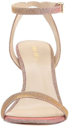 e7d7a4d8f8f1 Nine West Women s Angus Fabric Heeled Sandal -- Check out this great  product.