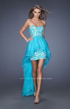 La Femme 19707 Formal Dress Gown