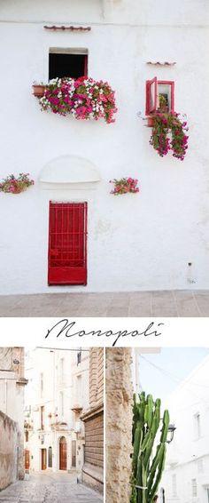 8 Städte in Apulien die du besuchen solltest: Monopoli