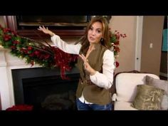 Christmas Decorating Ideas with QVC host Lisa Robertson...WOW!