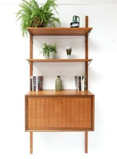 Courier - Read the item description or contact the seller for details Floating Bookshelves, Desk Shelves, Wall Mounted Shelves, Wooden Shelf Unit, Wooden Shelves, Wooden Crate Boxes, Shelving Systems, Floating Wall, Main Colors
