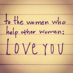 Kudos to all the women out there who support and encourage one another.  www.losethefatwithjax.com