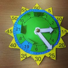 Teaching Time, Teaching Writing, Teaching English, Learning Clock, Fun Learning, Addition Activities, Activities For Kids, Classroom Clock, Senses Preschool