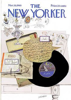 The New Yorker, New Yorker Covers, Capas New Yorker, Saul Steinberg, All Poster, Illustrations And Posters, Thing 1, Children's Book Illustration, Paintings For Sale