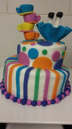 Torta alicia en el pais de las maravillas (mugcake)