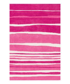 Loving this Tickle Me Pink Piper Rug on #zulily! #zulilyfinds