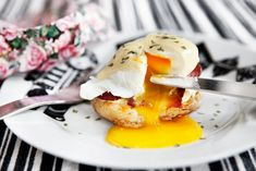 Weekend Breakfast – Eggs Benedict on a wednesday morning! Altered this recipe with turkey bacon, avocado, and tomato for a BLT version of a benedict. Came out perfect!