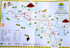 Trail Map | Arenal Observatory - Hike to Cerro Chato Volcano and more