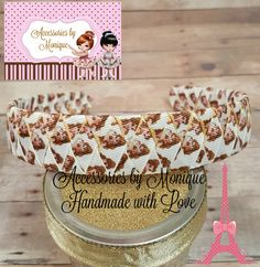 PRINCESS BELLE Ribbon Woven HEADBAND Beauty and the Beast Inspired Hairband Girl Teen Adult 1-inch Headband Grosgrain Ribbon Woven Headband by AccessoriesByMonique on Etsy