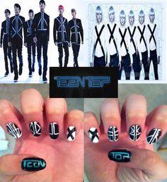 Teen Top Supa Luv nail art Kpop - Ellisy