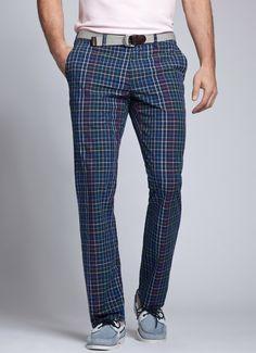 Power Grids by Bonobos Golf Fashion, Fashion Pants, Mens Fashion, Augusta National Golf Club, Mens Golf Outfit, Golf Pants, Look Cool, Khaki Pants, Menswear