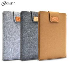 "7"" 8"" 10"" 11"" 13"" 15"" Hot Portable Wool Felt Laptop Bag Notebook Liner Sleeve Felt Cloth Ultrabook Tablet Pouch Case Cover"