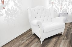 BuildDirect – Laminate - 12mm French Country Estate Collection – Provence French Grey - Living Room View 1.79