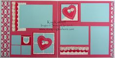 Stamping to Share: 1/30 More Amore 12x12 Scrapbook Pages