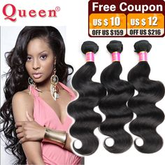 Brazilian Virgin Hair Body Wave 3 Bundles Queen Hair Products Unprocessed Human Hair Weaves Brazilian Body Wave Virgin Hair