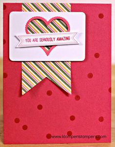 Klompen Stampers (Stampin' Up! Demonstrator Jackie Bolhuis): Another Card With August Paper Pumpkin