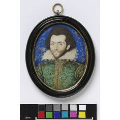 Portrait of an unknown man, called Sir Arnold Breams (Watercolour)