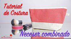 Tutorial de Costura - Como hacer un Neceser Combinado - How to make a Ne...