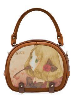 Little Girl Print Single Handle Shoulder Bag OASAP.com $90.00