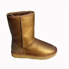 Ugg Metallic Dames Classic Short Argyle Laarzen 5825
