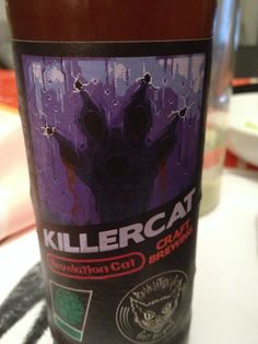 Revelation Cat Killer Cat Brewed by Revelation Cat Craft Brewing Style: India Pale Ale (IPA) Rome, Italy Note: Avoid this.. please!!!