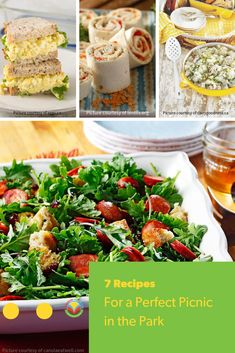 7 Recipes for a perfect picnic! Pack up these delicious picnic recipes and head out for a relaxing day. Barley Recipes, Bison Recipes, Oats Recipes, No Dairy Recipes, Mushroom Recipes, Fruit Recipes, Egg Recipes, Pork Recipes, Vegetable Recipes