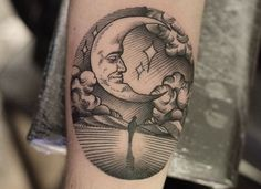 15 Lunar Tattoos That Will Have You Over The Moon | Tattoo.com