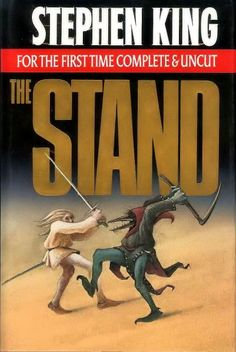 """I read """"The Stand"""" by Stephen King twice, I liked it that much.  Loved the first 3/4 of the book much better than the supernatural ending, but it was still a great book.  I don't read much by King anymore because he has gotten waaaay too political.  I read to get away; not to be reminded why the writer may not like me. ~ BugOutlaw"""