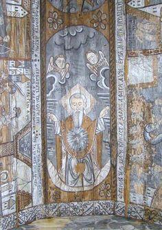 Biserica de lemn din Ieud Deal - Dumnezeu-Tatăl