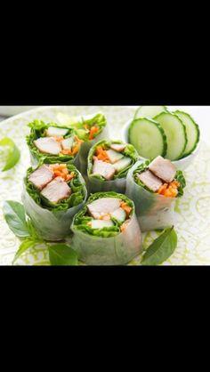Healthy finger food