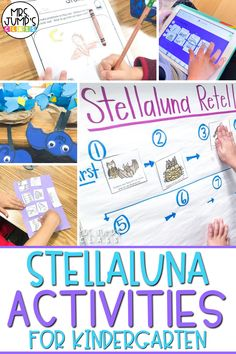 Stellaluna is a great Fall read aloud for kindergarten. In this post, I share about some of my favorite Stellaluna activities kindergarten like a Stellaluna craft, Stellaluna retell, and more!