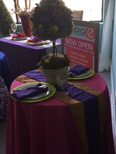 Event Design by Nu Epps at Esyntial Elements Consulting Inc. Table Ideas