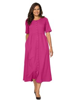 http://www.womanwithin.com/clothing/Dress-with-button-front-empire-waist-by-Only-Necessities.aspx?PfId=464884