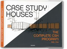 """Case Study Houses: """"It's a huge coffee-table (make that a banqueting-table) book, which analyses each of the houses in chronological order, with plans, sketches and glorious photographs."""" $135"""