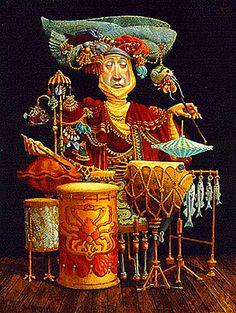 Dean Morrissey - piscatoral percussionist