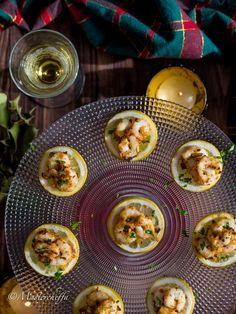 Gamberetti gratinati al limone – ricetta finger food | Mastercheffa | Bloglovin'