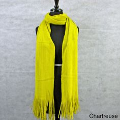 @Overstock - This luxurious scarf is very cozy, warm and stylish, and excellent for everyday wear. This beautiful scarf is made of a wool blend for a classic look.  http://www.overstock.com/Main-Street-Revolution/Solid-Soft-Luxury-Scarf-with-Fringe/7568888/product.html?CID=214117 $24.29