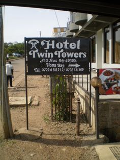 Hotel Twin Towers, Homa Bay, Kenya King Travel, East Africa, Renewable Energy, Towers, Kenya, Dublin, Places Ive Been, Twin, Journey
