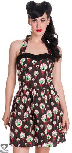 Hell Bunny Eyeball Perry Dress - Buy Online Australia Beserk