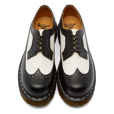 Dr. Martens - Black & White 3989 Brogues