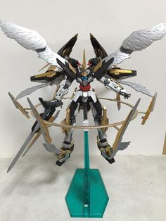 Custom Build: HG 1/144 00 Quanta + Dark Matter Kit bash - Gundam Kits Collection News and Reviews