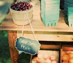 fruits stand