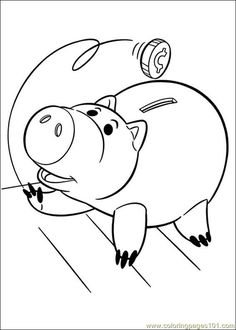 toy story coloring sheets - Google Search