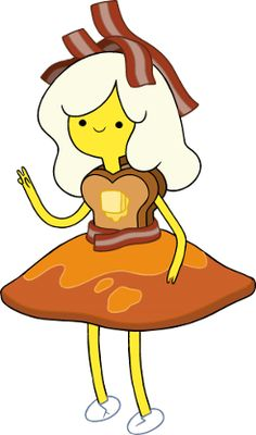 I think Breakfast Princess deserves more hype, I mean her crown's made out of BACON.