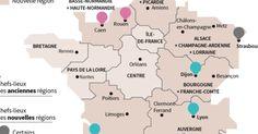 La carte à 13 régions définitivement adoptée